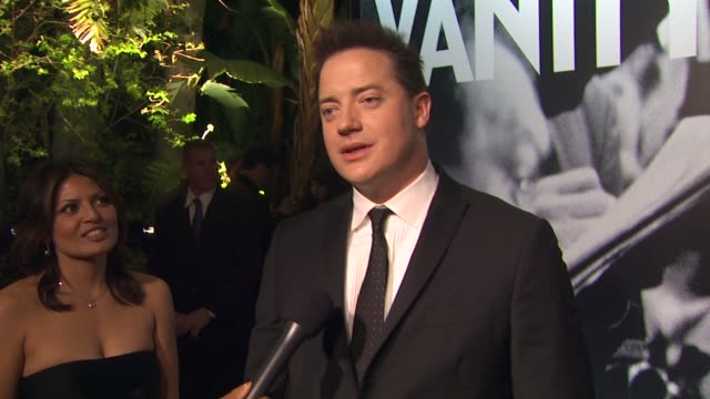 brendan fraser at the 2010 vanity fair oscar party hosted by graydon carter at west hollywood ca - graydon carter stock videos and b-roll footage
