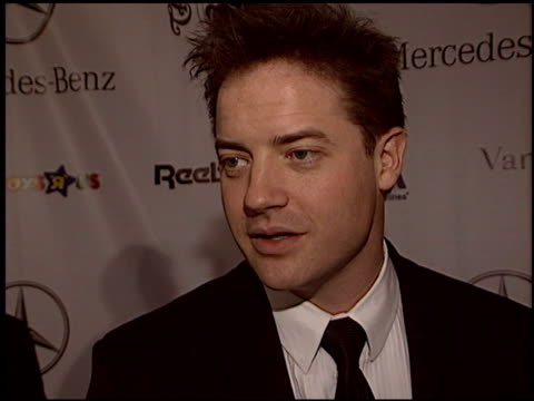 brendan fraser at the carousel of hope gala at the beverly hilton in beverly hills california on october 23 2004 - carousel of hope stock videos and b-roll footage