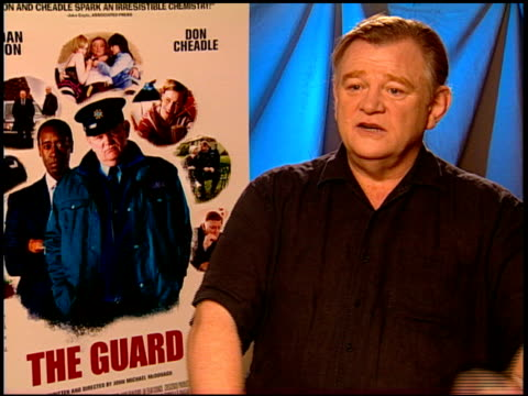 Brendan Gleeson on he and Don Cheadle working together and their process at the 'The Guard' Junket at Beverly Hills CA