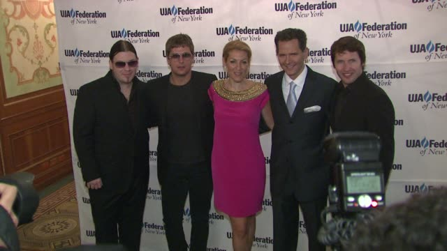 Brent Smith Rob Thomas at the UJAFederation's Music Visionary of the Year Award Luncheon at New York NY