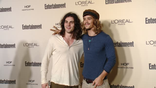 brenton thwaites at entertainment weekly's preemmy celebration at fig olive melrose place on september 18 2015 in west hollywood california - entertainment weekly stock videos and b-roll footage