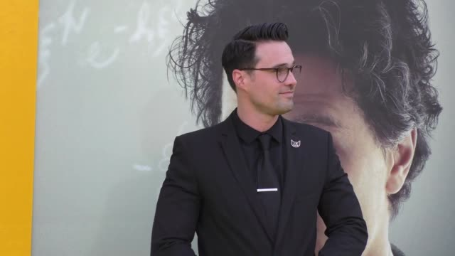 brett dalton at the premiere of national geographic's 'genius' on april 24, 2017 in los angeles, california. - genius stock videos & royalty-free footage