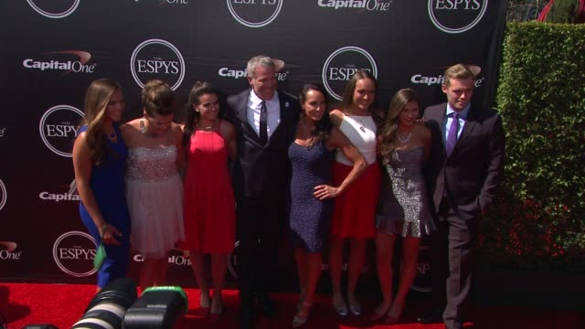brett favre at the 2015 espys at microsoft theater on july 15 2015 in los angeles california - microsoft theater los angeles stock videos and b-roll footage