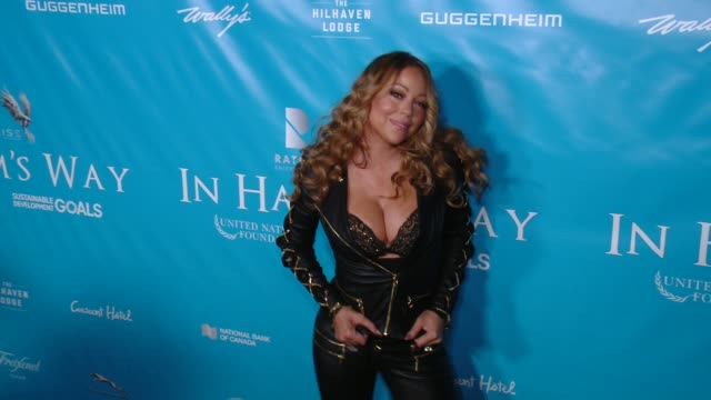 clean brett ratner and david raymond host special event for un secretarygeneral ban kimoon in los angeles ca - mariah carey stock-videos und b-roll-filmmaterial