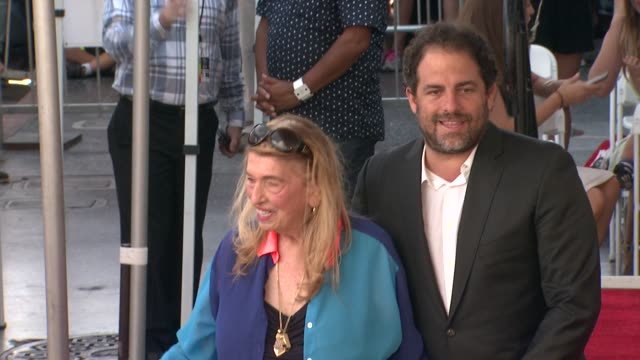 brett ratner at mariah carey honored with star on the hollywood walk of fame on august 05 2015 in hollywood california - mariah carey stock videos and b-roll footage
