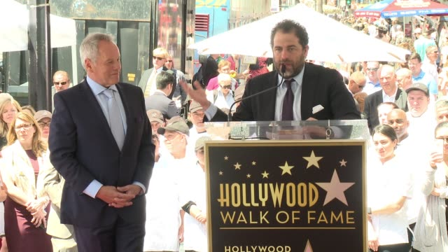 brett ratner at wolfgang puck honored with star on the hollywood walk of fame at hollywood walk of fame on april 26, 2017 in hollywood, california. - wolfgang puck stock videos & royalty-free footage
