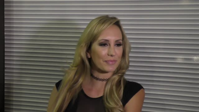 Brett Rossi talks about her ex Charlie Sheen about her new book at Katsuya Restaurant in Hollywood in Celebrity Sightings in Los Angeles