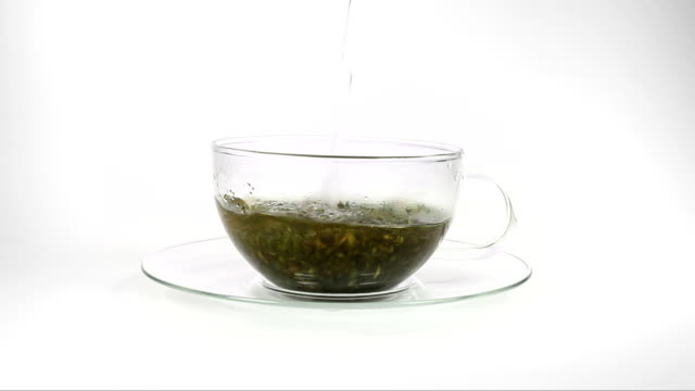 brewing a cup of tea - afternoon tea stock videos & royalty-free footage