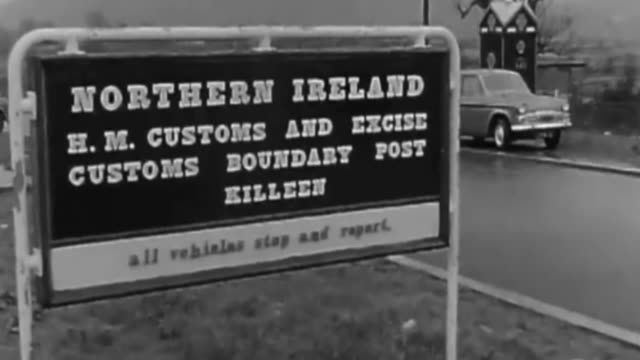 Agreement on transitional deal 'not a given' says Michel Barnier LIB IRELAND County Armagh Killean EXT / RAIN 'Northern Ireland HM Custom and excise...