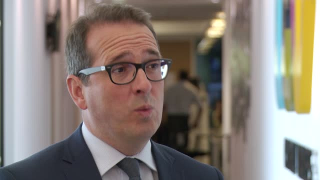 airbus says no deal with the eu could see it leave the owen smith interview england london int owen smith mp interview sot - owen smith politician stock videos & royalty-free footage