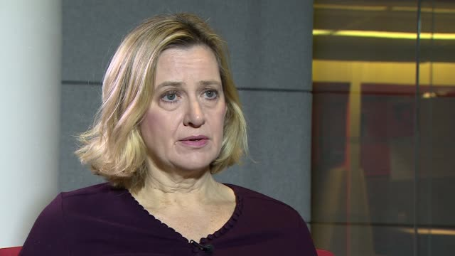 Amber Rudd backs Norway model as alternative to May's deal Amber Rudd interview ENGLAND London BBC Broadcasting House INT Amber Rudd MP interview re...