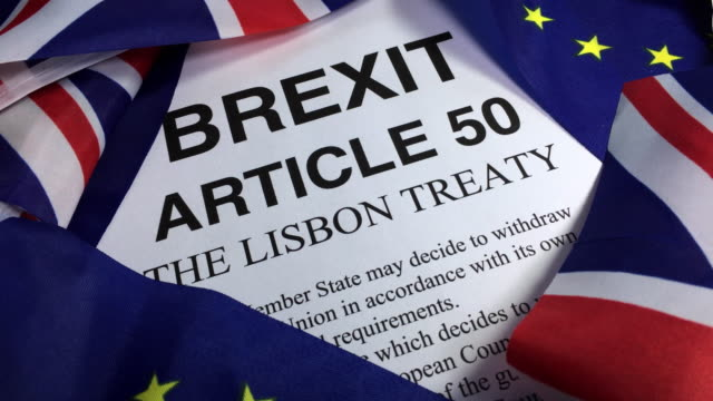 Brexit and the European Union Article 50 The Lisbon Treaty.