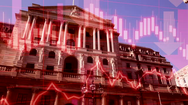 brexit: bank of england warns of recession if uk leaves the eu without a deal - decline stock videos & royalty-free footage