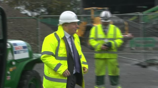 boris johnson and ursula von der leyen hold video call as free trade agreement negotiations continue england london conway heathrow asphalt and... - jacket stock videos & royalty-free footage