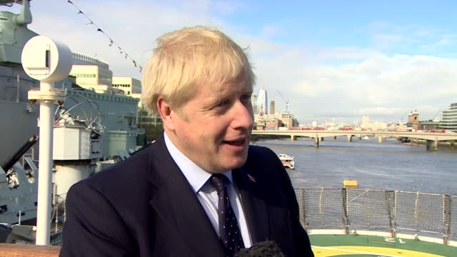 boris johnson denies lying to the queen over prorogation of parliament and plays down yellowhammer uk london prime minister boris johnson interview... - reclining stock videos & royalty-free footage