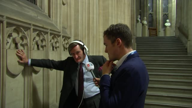 boris johnson pauses brexit legislation after winning one key vote and losing another uk westminster flags outside parliament emma lewellbuck... - dominic grieve stock videos and b-roll footage