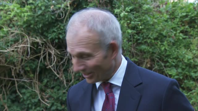 cabinet agree soft brexit negotiating position with the eu england buckinghamshire chequers ext david lidington mp interview sot - governmental occupation stock videos & royalty-free footage