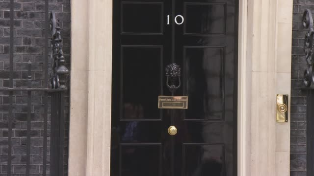 cabinet arrivals and departures uk london westminster downing street cabinet arrivals england london westminster downing street ext karen bradley mp... - welsh culture stock videos & royalty-free footage