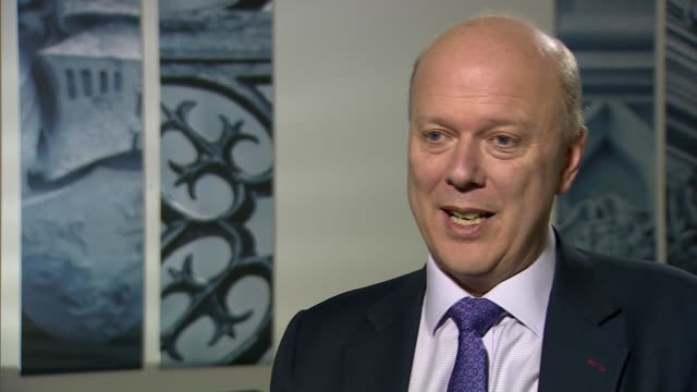 Chris Grayling interview ENGLAND London Westminster INT Chris Grayling MP interview SOT Prime Minister has listened to Parliament / logical thing is...