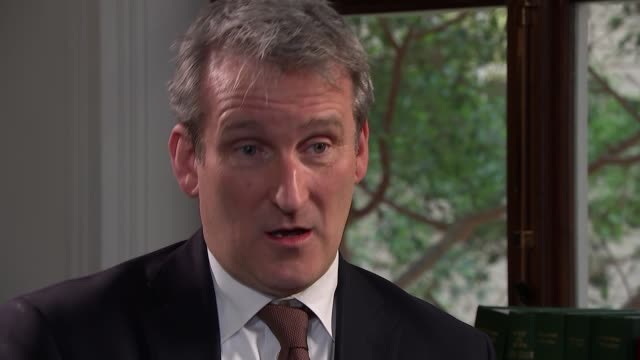 damian hinds interview england london damian hinds interview sot - damian hinds stock videos and b-roll footage
