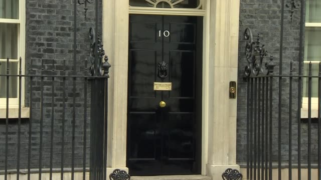 downing street cabinet arrivals and departures england london downing street no10 ext liz truss mp and alun cairns mp depart / gavin williamson mp... - damian hinds stock videos and b-roll footage