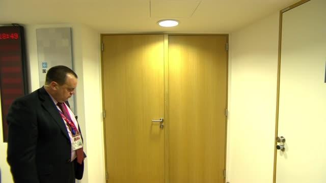 EU leaders to decide on Brexit extension BELGIUM Brussels European Council Door closing on EU Council meeting Dalia Grybauskaite interview SOT