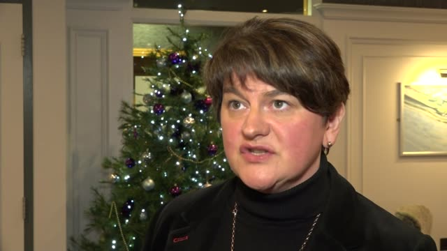 EU rebuffs May efforts to renegotiate withdrawal agreement raising the prospect of no deal NORTHERN Arlene Foster MLA interview SOT