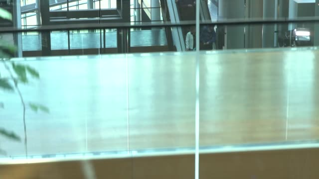 european parliament gvs france basrhin grand est strasbourg int various interior of european parliament including point of view ascending and... - elevator point of view stock videos and b-roll footage