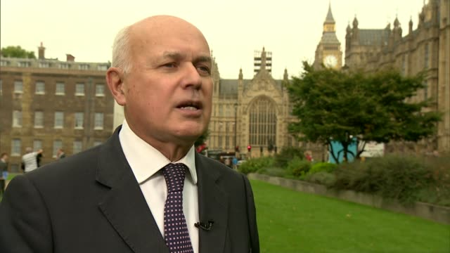 European Union Withdrawal Bill accused of giving ministers too much power Westminster EXT Iain Duncan Smith MP interview SOT