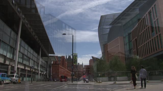 fears over science funding and employment london king's cross people along various of francis crick institute - francis crick stock videos & royalty-free footage