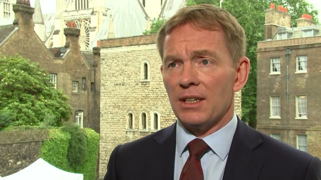 labour party shadow cabinet exodus; westminster: chris bryant mp interview sot - told jeremy to resign, he only mentioned his mandate toby perkins mp... - mp stock videos & royalty-free footage