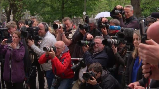 vidéos et rushes de reaction in scotland; ext nicola sturgeon to press conference podium outside bute house/ nicola sturgeon press conference sot - as westminster is... - vox populi