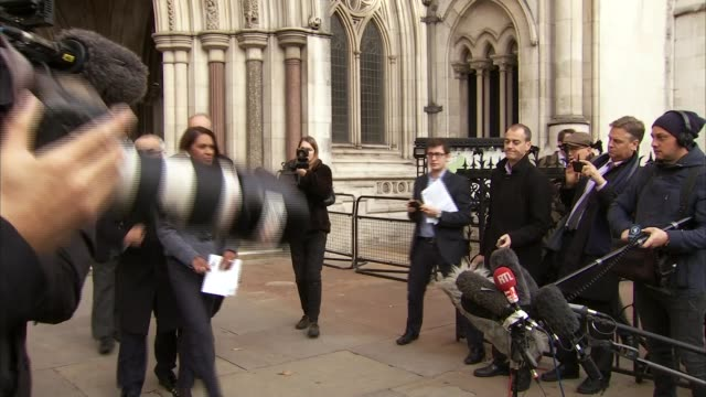 Theresa May backs right of newspapers to criticize High Court judges 3rd November 2016 EXT Gina Miller businesswoman and claimant in the Brexit case...
