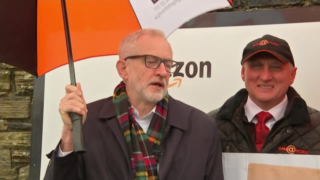 general election 2019 jeremy corbyn defends decision to remain neutral in any future referendum on europe uk south yorkshire sheffield jeremy corbyn... - mature adult stock videos & royalty-free footage