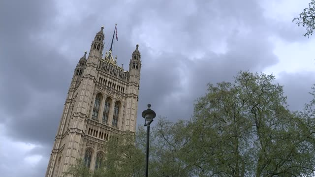 Government denies claims of worstcase 'Armageddon' scenario R020518002 / London Westminster General view Westminster Palace Victoria Tower Parliament...