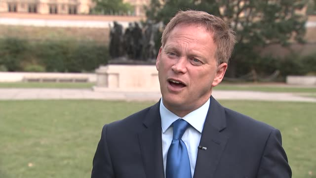 grant shapps interview england london westminster ext grant shapps mp interview sot on disabled parking bluebadge scheme to include 'invisible... - invisible disability stock videos & royalty-free footage
