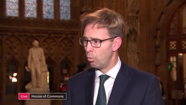 Indicative votes round 2 buildup LIVE ENGLAND London Commons Lobby INT Tobias Ellwood MP interview SOT