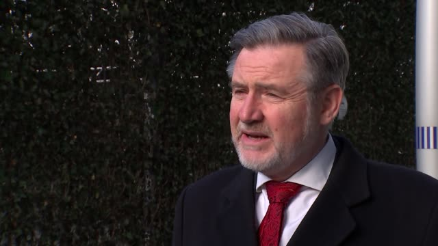 Irish government will veto trade talks unless it wins guarantees on border issue ENGLAND EXT Barry Gardiner MP interview SOT