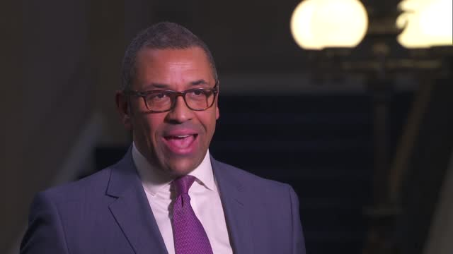 james cleverly interview; england: london: westminster: int james cleverly mp interview sot - q: what are the chances of a deal? jc: well it's... - fantasy stock videos & royalty-free footage