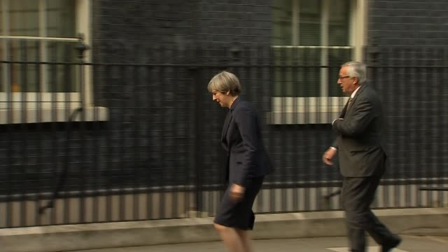 jeanclaude juncker says english language losing importance in europe brexit jeanclaude juncker says english language losing importance in europe... - 10 downing street stock videos and b-roll footage