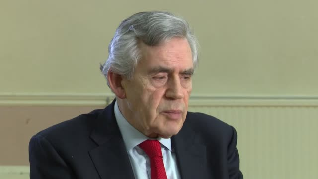 Jeremy Corbyn refuses to take part in crossparty Brexit talks LOCATION Gordon Brown MP interview SOT
