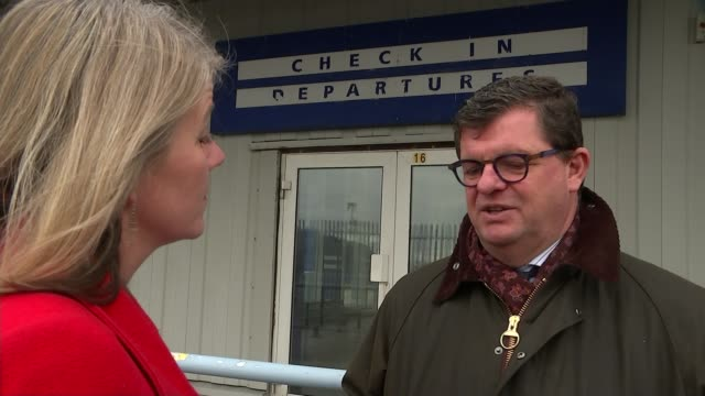 Mayor of Ostend casts doubts over UK government ferry contract UK Ramsgate GVs 'mothballed' and deserted Port of Ramsgate Bart Tommelein interview...
