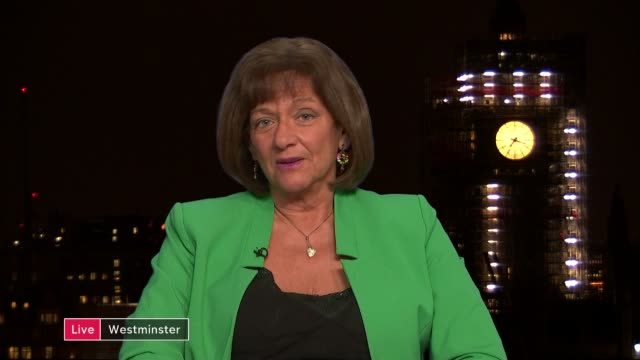 Michel Barnier says UK must make up its mind ENGLAND London GIR INT Peter Bone MP STUDIO interview and Baroness Ros Altmann 2 WAY interview from...