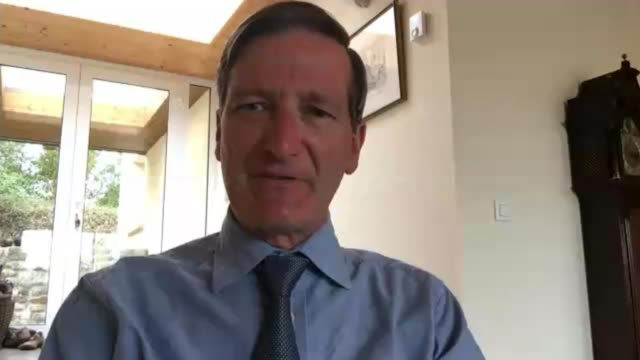 mixed reaction to jeremy corbyn plan for temporary government to stop no deal via internet dominic grieve mp interview sot - jeremy corbyn stock videos and b-roll footage