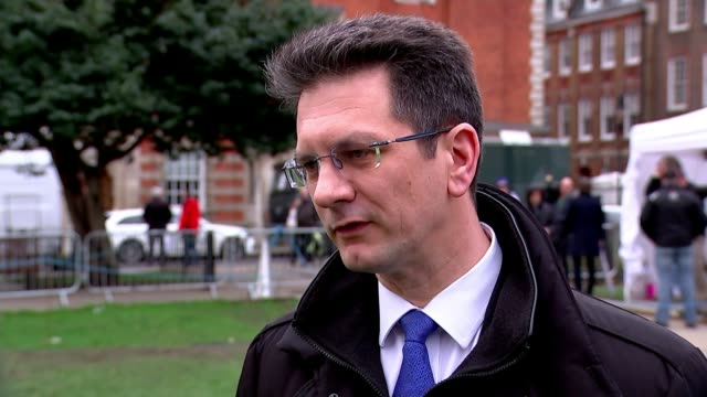 MPs prepare to vote on series of nodeal amendments ENGLAND London Westminster EXT Steve Baker MP interview SOT Catastrophe is a word that should be...