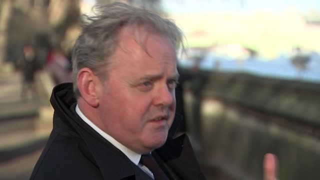 MPs step up fight against a No Deal Brexit UK London Guto Bebb MP interview Theresa May's car arriving at the Houses of Parliament Yvette Cooper MP...