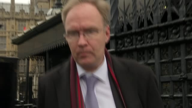 mps vote in favour of article 50 bill brexit mps vote in favour of article 50 bill westmister ext various shots sir ivan rogers leaving the house of... - house of commons stock videos and b-roll footage
