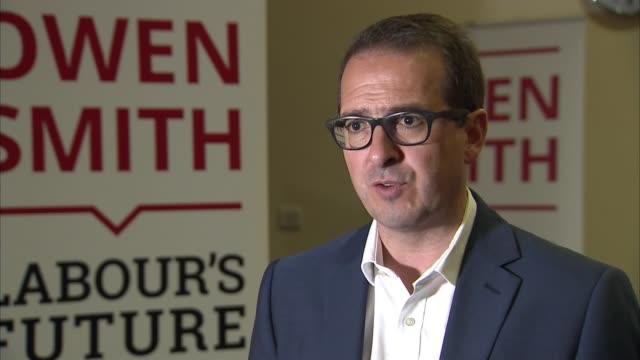 owen smith interview owen smith mp interview sot - owen smith politician stock videos & royalty-free footage