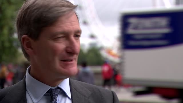 parliament resumes after suspension ruled unlawful / row over boris johnson's comments on jo cox england london westminster ext dominic grieve mp... - dominic grieve stock videos and b-roll footage