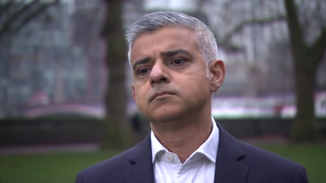 Sadiq Khan warns half a million could lose jobs with no deal London EXT Sadiq Khan interview SOT On whether we should be surprised a proEU mayor...